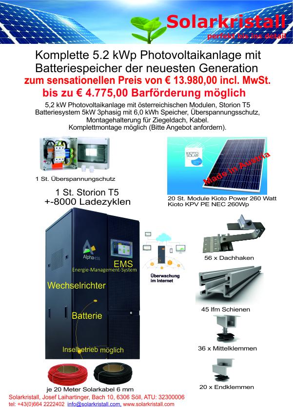 Photovoltaik-Aktionen