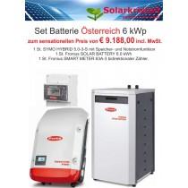 Set Fronius SOLAR BATTERY 6.0 kWh mit SYMO HYBRID 5.0-3-S und Fronius SMART METER 63A-3 bidirektionaler Zähler